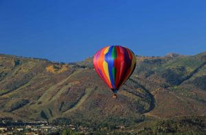 Hot Air Balloon - Park City Utah