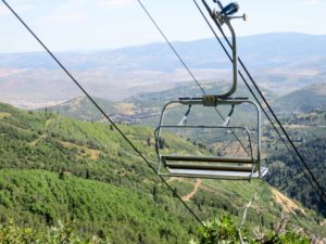 Park City Chairlift Ride
