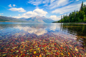 paddle board lake mcdonald