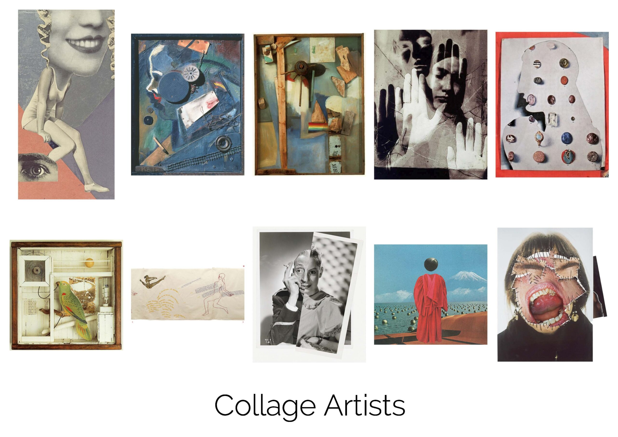 Collage Artists