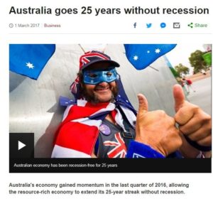 Australia goes 25 years without recession image9