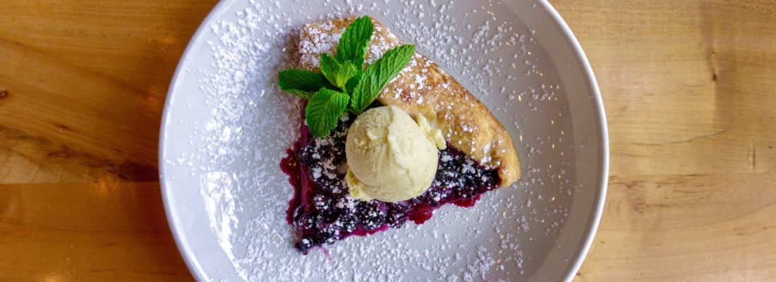DESSERT SPECIAL: BLUEBERRY CROSTATA