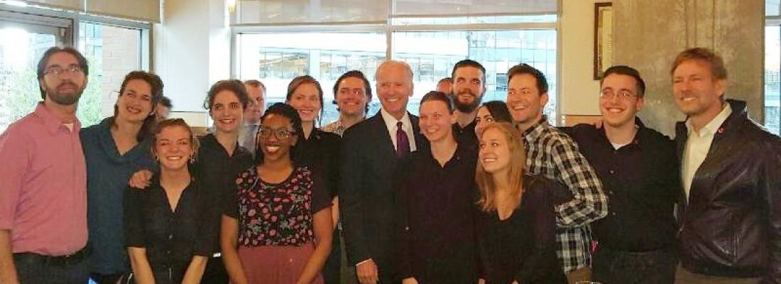 Vice President Biden Visit