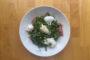 Burrata with Prosciutto, Asparagus & Peas