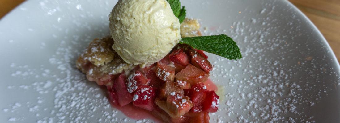 DESSERT SPECIAL: Rhubarb Crostata