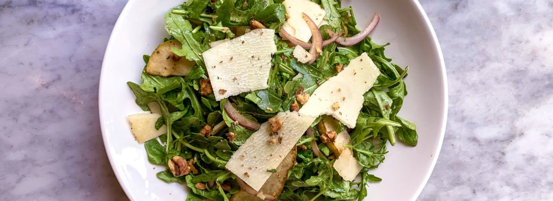 SALAD SPECIAL: Roasted Pear and Rucola Salad