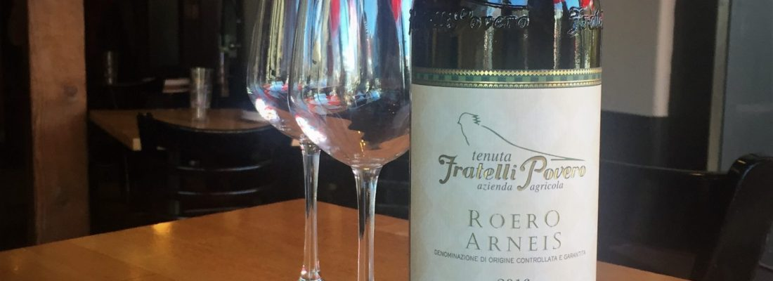 Wine Special: ROERO ARNEIS CANTINE POVERO – PIEMONTE