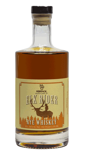 Heritage Distilling Elk Rider Rye Whiskey
