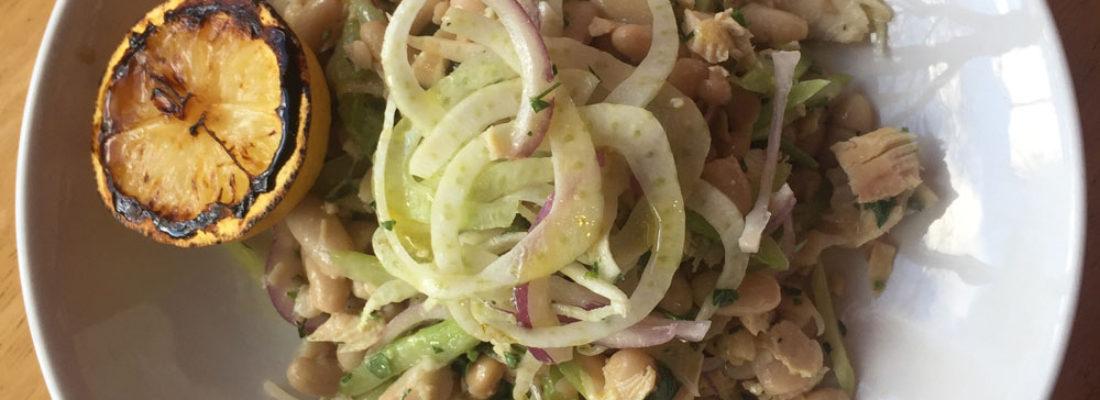 Starter special: Albacore Tuna with Cannellini Bean