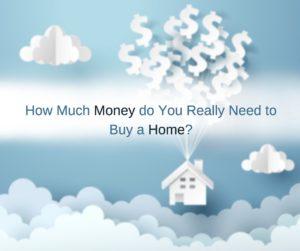 Money do You Need to Buy a Home - USA Mortgage