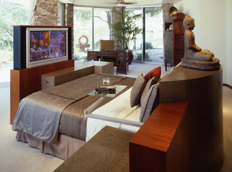 tv lift for cabinets, inca, plasma lift,, contemporary bed, custom bed, custom nightstands, tv lift, tv stand, custom tv lift for cabinet, custom tv lift