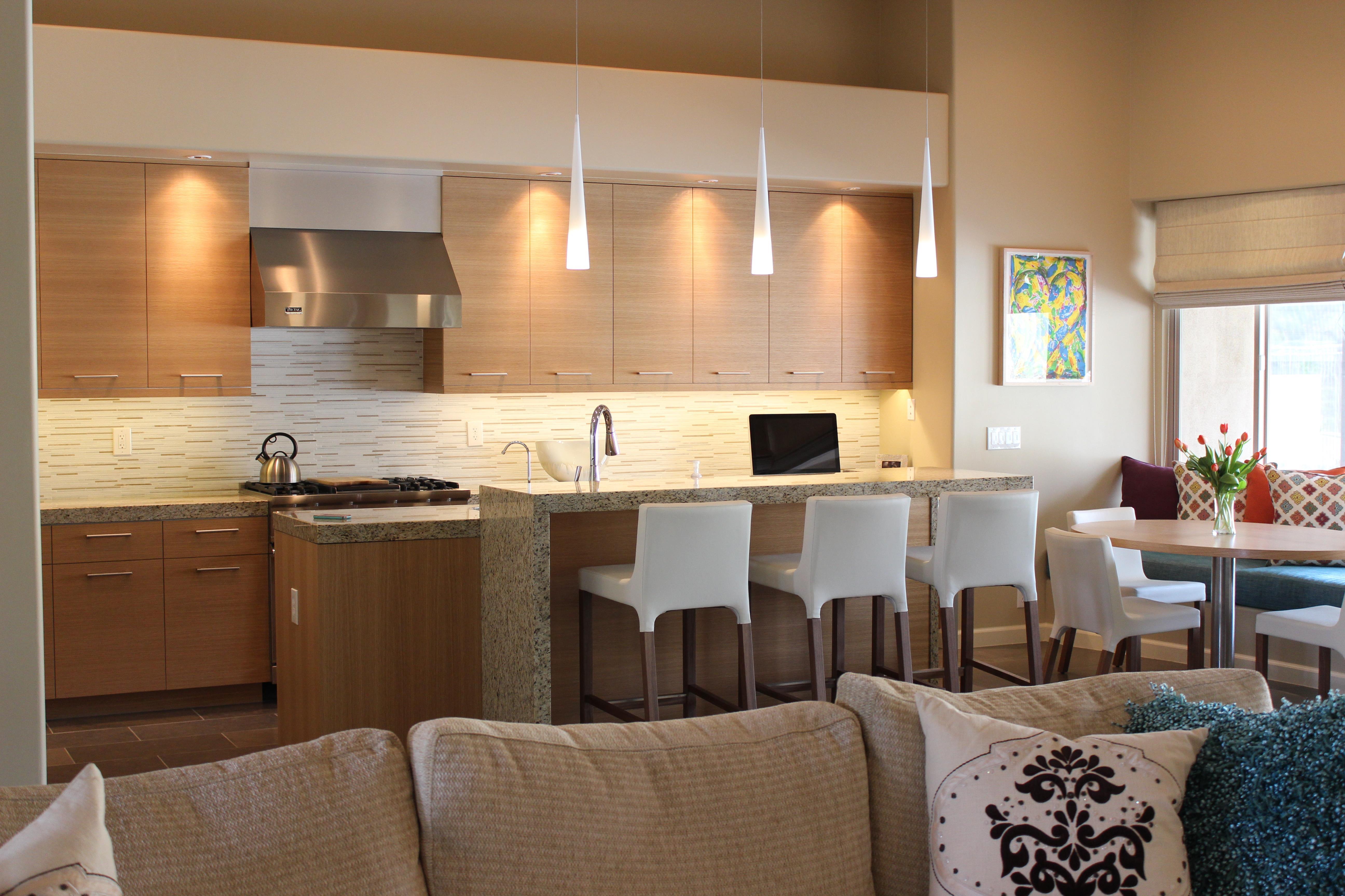 modern kitchen, veneer kitchen, Willis and willis interior design, tammie willis,