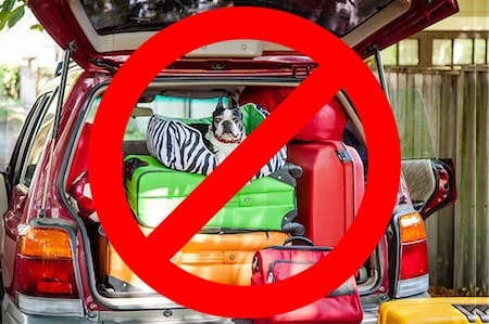 do not overpack vehicles