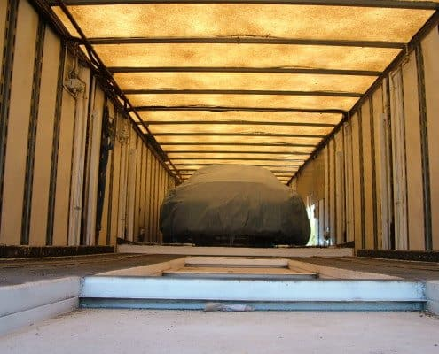 Enclosed Auto Transport Trailer
