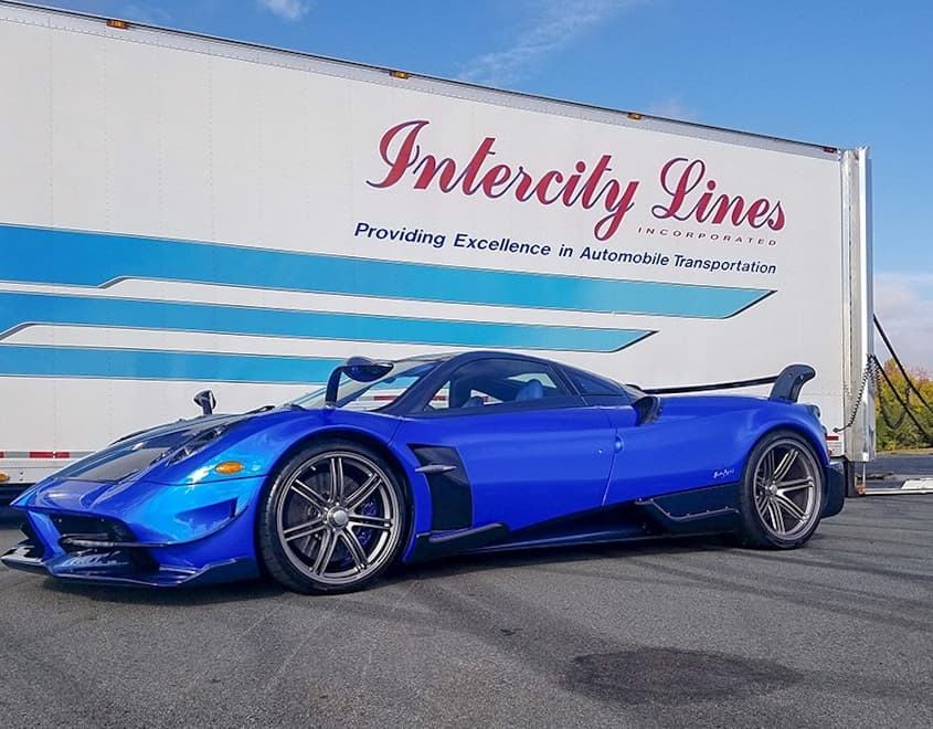 intercity lines pagani shipping