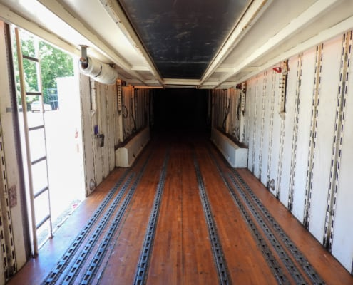kentucky car carrier interior