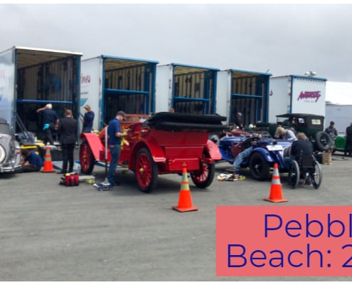 Pebble Beach car week 2019