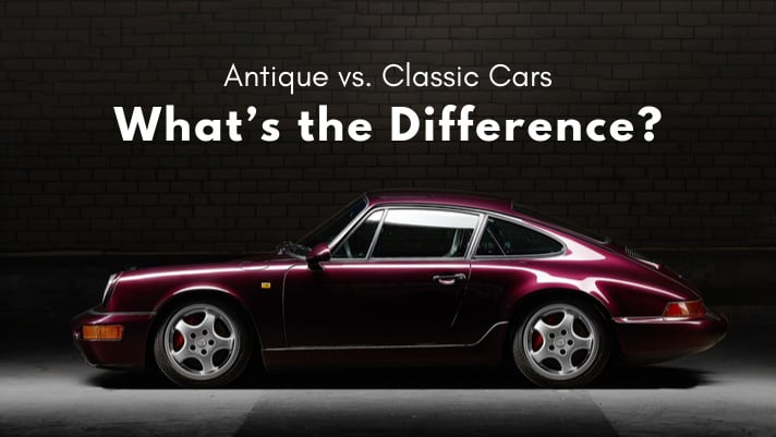 Antique vs. Classic Cars   What's the Difference?
