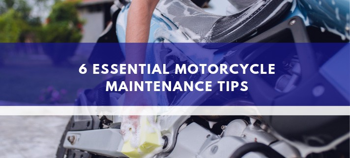 6 Essential Motorcycle Maintenance Tips