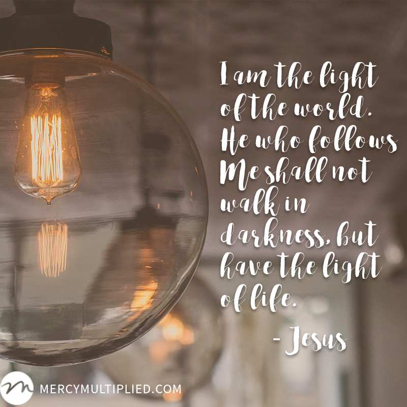 I Am the Light | mercymultipliedblog.com