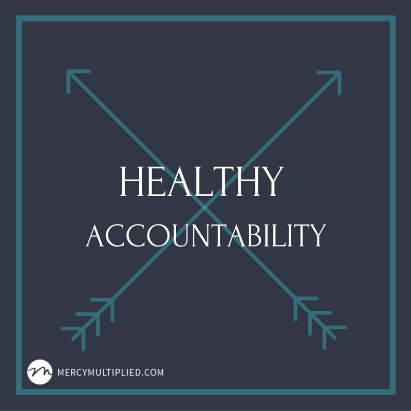 Being a Healthy Accountability Person