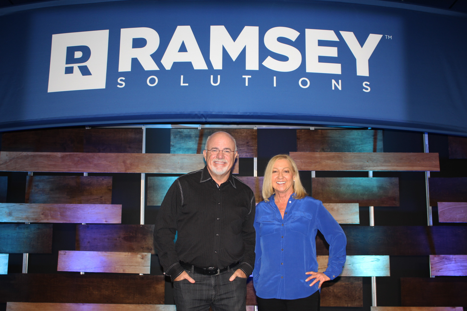Dave Ramsey and Nancy Alcorn at Ramsey Solutions