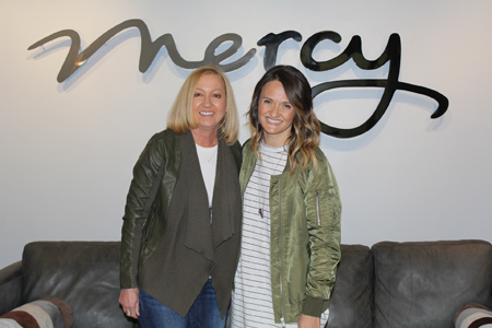 Mercy Founder and President, Nancy Alcorn, and Pastor Andi Andrew from Liberty Church in NYC.