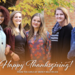 Thanksgiving Traditions in the Mercy Home