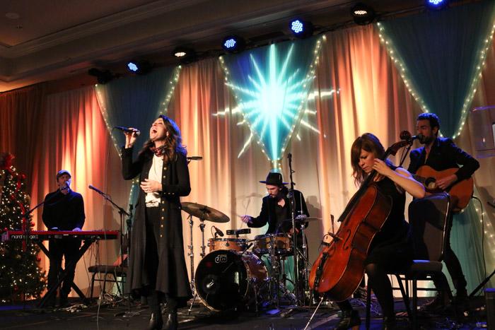 Christy Nockels band at Nashville Merry Mercy