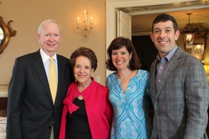Dr. Shep (right) with his sister Katherine and their parents, Steven & Taffy