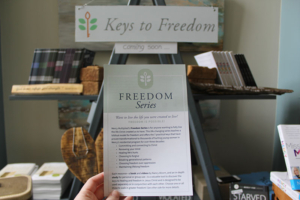 Mercy Outreach Director, Melanie Wise, shared all about Mercy's newest, most universal and transformational study yet: Keys to Freedom launching March 9th!