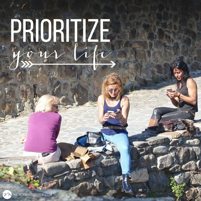 Prioritize | Mercy Multiplied
