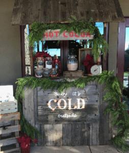 Mercy Wonderland 2016 hot cocoa bar