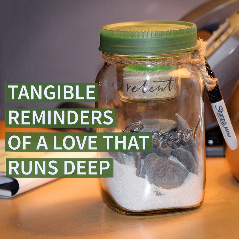 Tangible Reminders of the Depth of God's Love