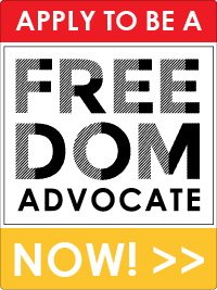 Apply to be a Freedom Advocate