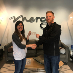 Troy Tenneson visiting Mercy's Corporate Headquarters in Nashville, TN