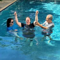 Mercy Multiplied Residents Make Public Declarations of Faith