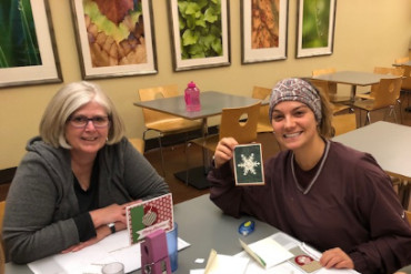 Mercy Multiplied California residents learn handcrafted cardmaking