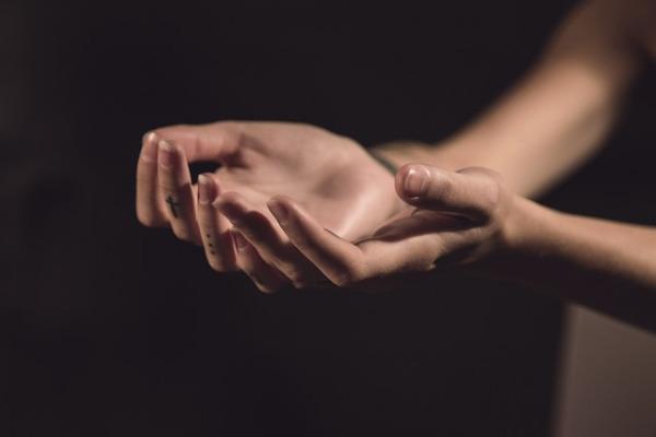 Open hands, open-handed faith
