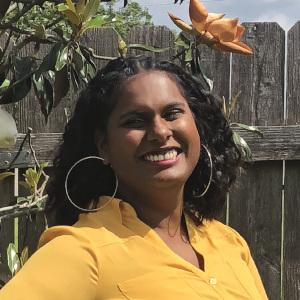 2019 Mercy graduate Angela