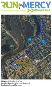 Run for Mercy 5K - Forsythe Park - Monroe, LA