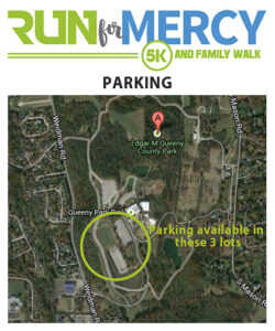 Run for Mercy 5K Parking - Queeny Park - St. Louis, MO