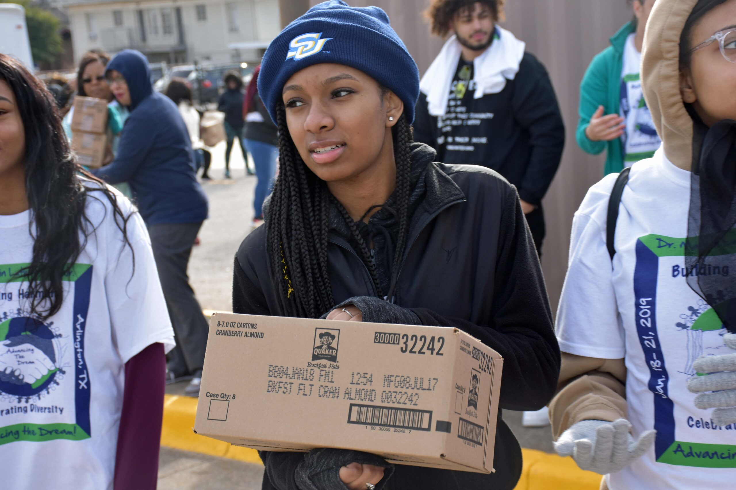 """Martin Luther King Jr. """"Day of Service"""" 2019 at Mission Arlington"""