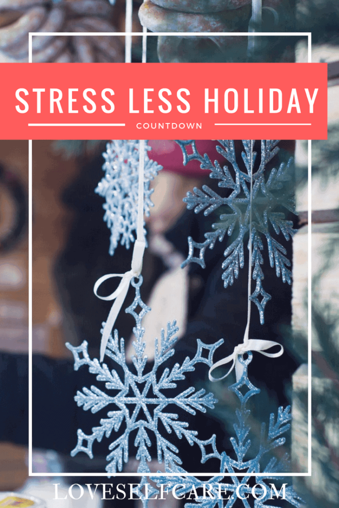 Stress Less Holiday Countdown