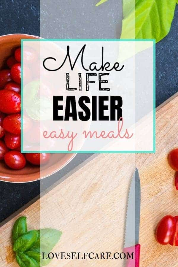 Make Life Easier - Would you like to save money and time and eat well?  Yes, yes and yes!  Right?  Are you looking for easy meals to make for dinner?  Review of the Emeals App and how to use it to have a week's worth of meals ready to go quickly.