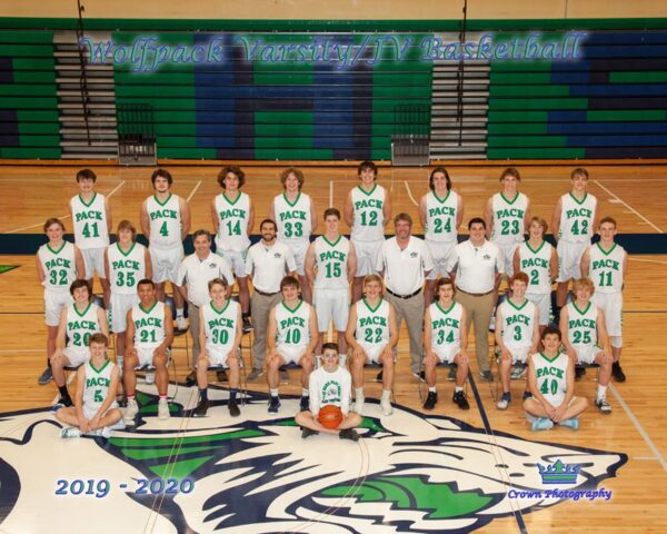 2019-20 Glacier Wolfpack team photo