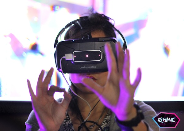 Image from Art+Tech: Virtual Reality, November 2014. (Photo: Codame)