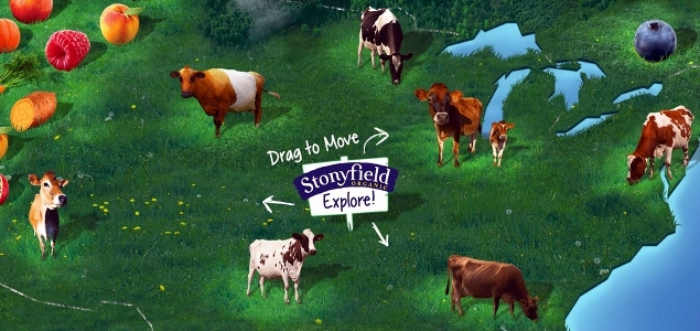 Stonyfield Farm Continues to Drive Transparency with Ingredient Source Map