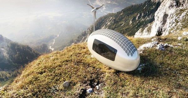 Ecocapsule is the egg-shaped tiny home that can go off-grid and off-pipe : TreeHugger