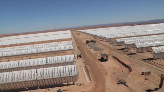Moroccan solar plant to bring energy to a million people – BBC News